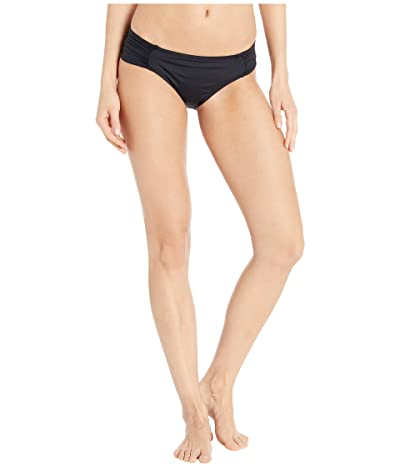 La Blanca Island Goddess Side Shirred Hipster (Black) Women