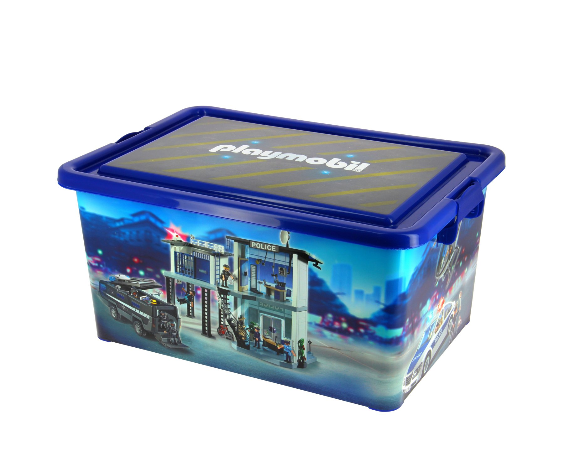Caja con divisiones PLAYMOBIL 064671 23/L Caja Grande de almacenaje