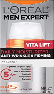 L'Oreal Men's Expert Vita Lift Anti-Wrinkle and Firming Moisturizer 1.60 oz (Pack of 2)