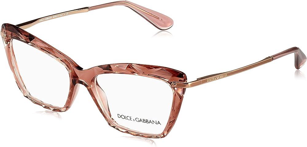 Dolce & gabbana,montatura occhiali da vista per donna 0DG5025