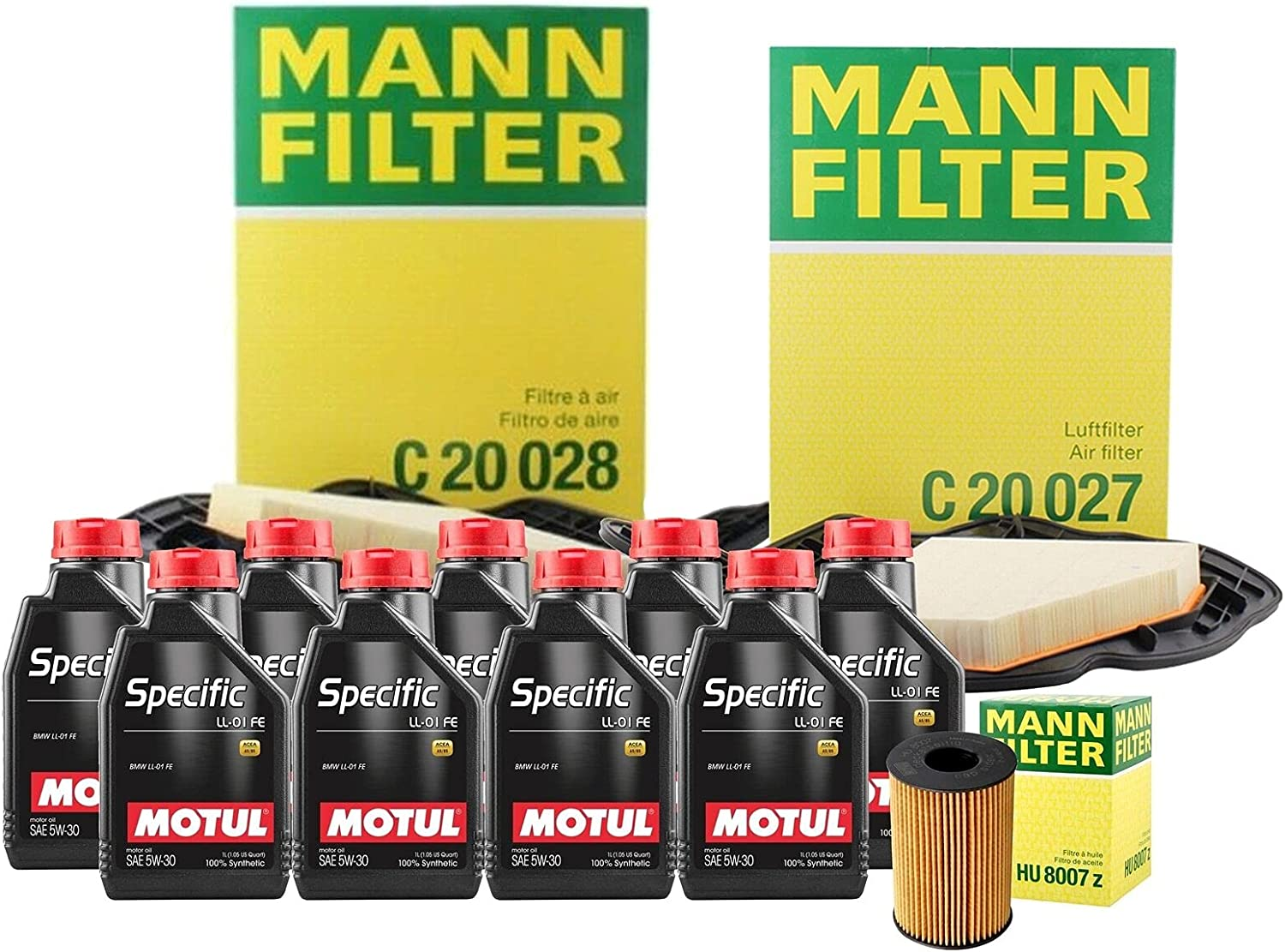 9L Gifts SPECIFIC LL01 FE Quality inspection 5W30 Filter Compati Air Change Oil Motor kit