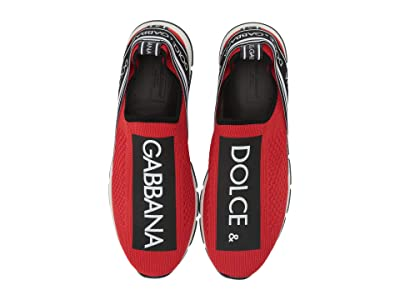 Dolce & Gabbana Kids D10723AH67789873 (Little Kid/Big Kid) (Rosso/Nero) Girl