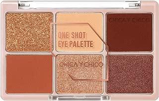 [CHICA Y CHICO] One shot eye palette series, mat, shimmer, glitter, vivid pigmentation, soft texture, long lasting, 9g (chilibrick)