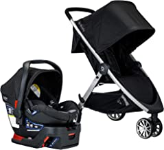 Best BRITAX B-Lively Travel System with B-Safe 35 Infant Car Seat | One Hand Fold, Ashton Review