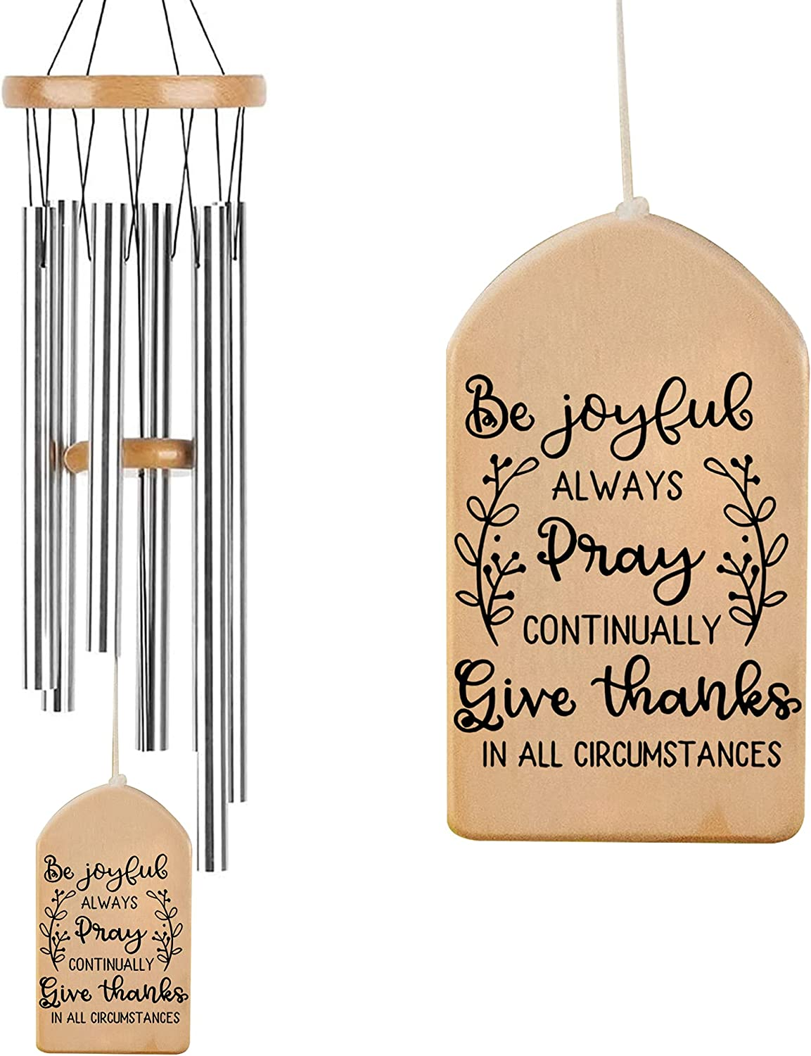 ASLlife Motivation Wind Chimes Year-end gift Be Frien Thanks Give Luxury Joyful for