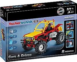 Fischertechnik Cars and Drives – Construye 8 Modelos de Automóvil con este Divertidísimo Juego Educativo.