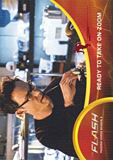 2017 The Flash Season 2 Trading Cards Scarlet Speedster Deco Foil #53 Ready to Take on Zoom