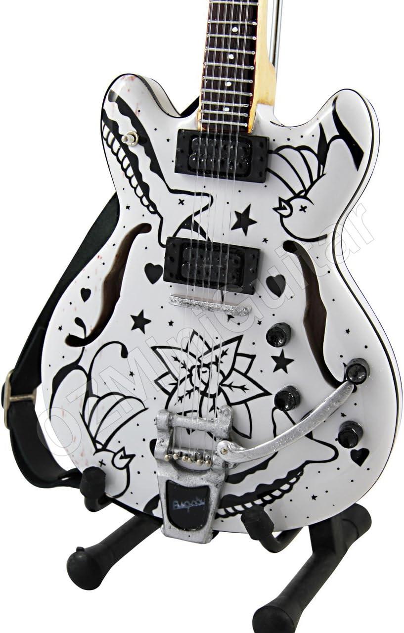 OZMiniGuitar Guitarra Miniatura Porl Thompson Schecter