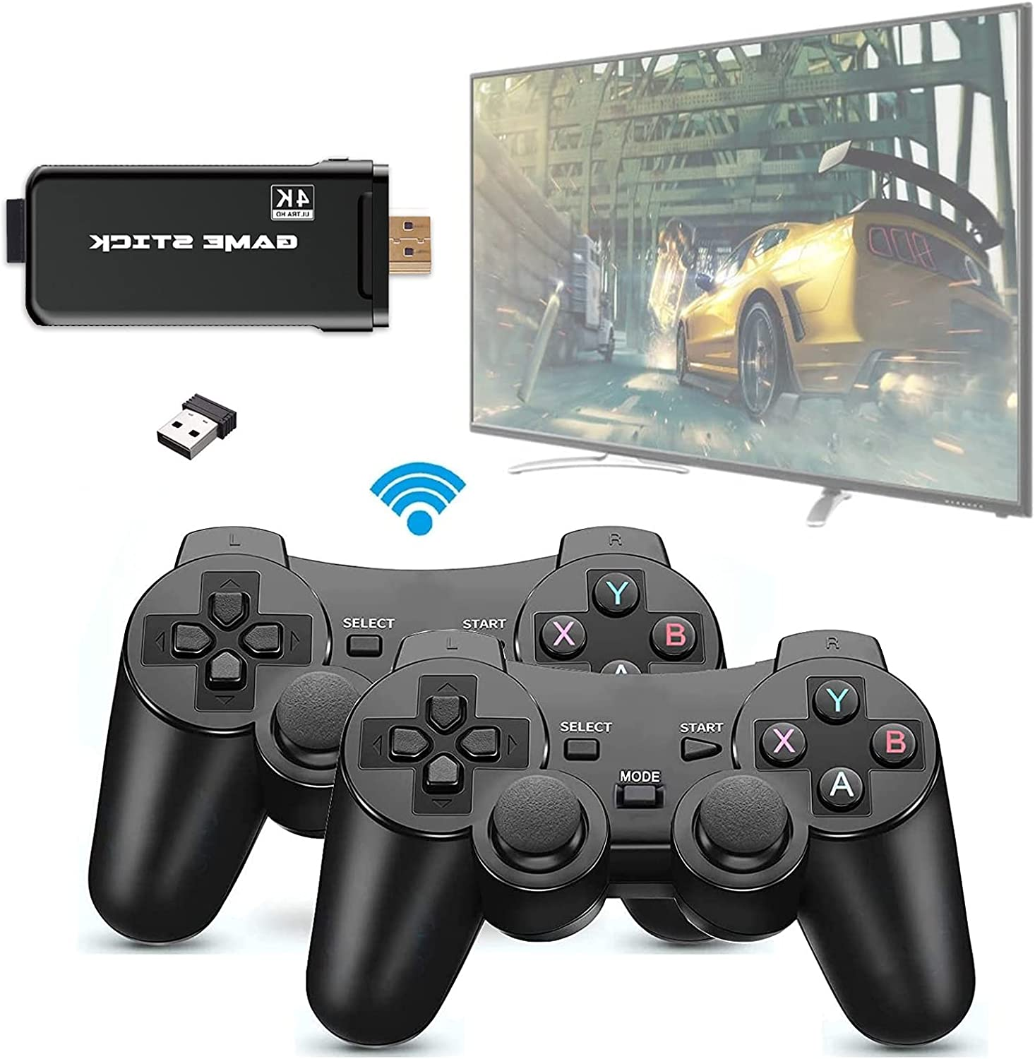 LXYFMS 2021NEW USB Game Console Plug Host Play and Mini Portable 67% OFF of fixed price outlet