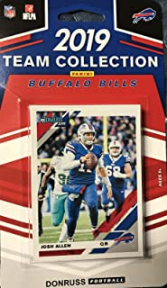 Buffalo Bills 2019 Donruss Factory Sealed 11 Card Team Set with Josh Allen and Jim Kelly Plus Rated Rookies of Devin Singletary and Ed Oliver and 7 Other Cards