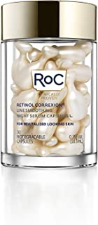 RoC Retinol Correxion Line Smoothing Night Serum Capsules, 30 Count