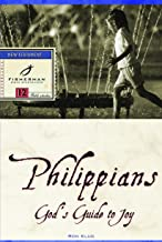Philippians: God's Guide to Joy (Fisherman Bible Studyguide Series)