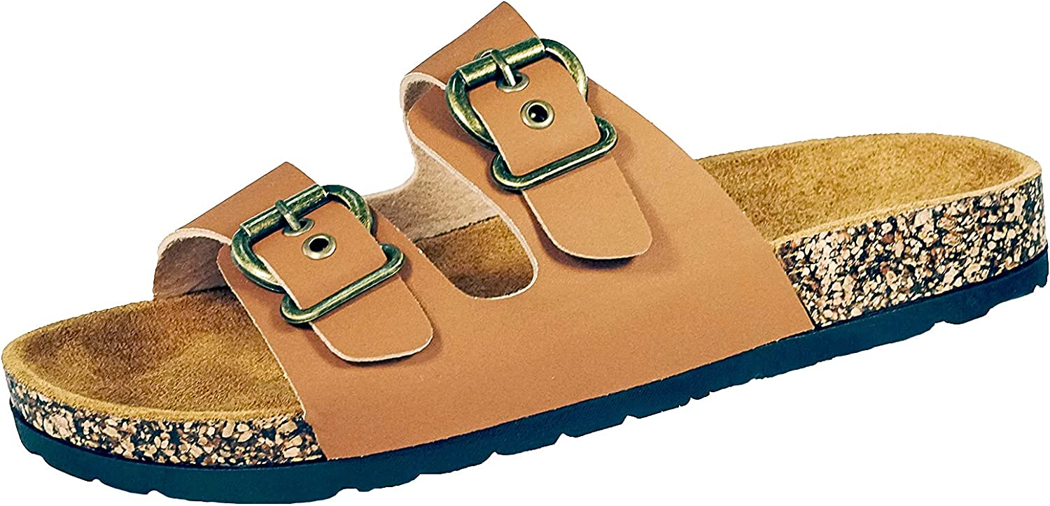 Amyattack Lafootgi Women's Lane Cork Footbed Sandal with +Comfor