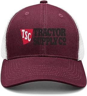 AINIJIAJ Men/Women Print Adjustable Tractor-Supply-Company-TSC- Fitted Flat Brim Snapback Cap