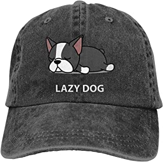OASCUVER I Love My Dog Hat, Keep Calm and Love Dogs Adjustable Cotton Baseball Cap for Women Men