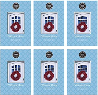 Bridgewater Scented Sachet - Welcome Home, 6-Pack