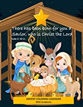 Advent Coloring Calendar with Scriptures