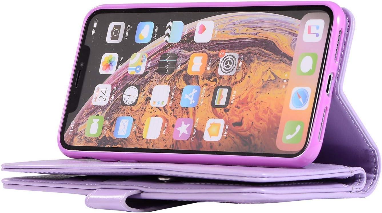 Huawei Mate 10 Pro Handyh/ülle Glitzer Muster PU Leder mit Rei/ßverschluss Handschlaufe Standfunktion Geldb/örse Case Schutzh/ülle Etui Tasche Hpory Kompatibel mit Huawei Mate 10 Pro H/ülle Golden