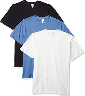 Marky G Apparel Men's Inspired Dye Crewneck Short Sleeve T-Shirt (Pack of 3)