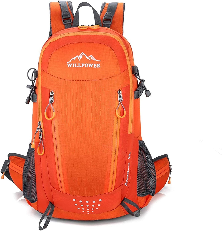Lounayy Rucksack Outdoor Sport Trekking Unisex Unisex Unisex Rucksack Wandern Mode Stylisch Wasserdichte Durable Camping Reisen Rucksack (Farbe   Orange, Größe   One Größe) B07PQ634V8  Charakteristisch 987ae7