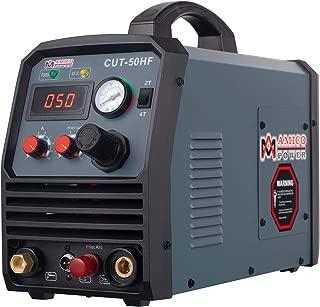 Amico CUT-50HF, 50 Amp Non-touch Pilot Arc Plasma Cutter, Pro. 95~260V Wide Voltage, 3/5 in. Clean Cut Cutting Machine