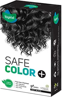 Vegetal Hair Color, Soft Black, 100 g