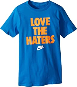 Nike Kids NSW T-Shirt Love The Haters (Little Kids/Big Kids)