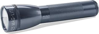 Maglite ML25LT LED 2-Cell C Flashlight, Gray