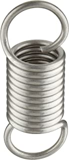 1 OD Pack of 10 2.5 Free Length 5.91 Extended Length Extension Spring 302 Stainless Steel 8.08 lbs Load Capacity 0.063 Wire Size 2.17 lbs//in Spring Rate Inch