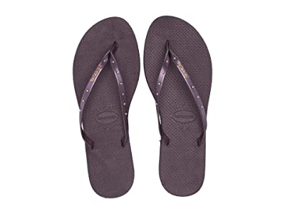 Havaianas You Maxi Sandal (Aubergine) Women