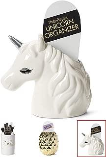 unicorn brush holder