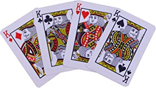 Partyforte kf18-playcard Plastic Playing Cards - Casino Grade, Cream