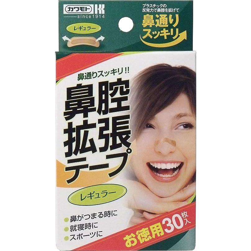 カヌー聖書干渉鼻腔拡張テープ レギュラー 30枚入 ×10個セット