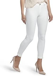 HUE Women's Plus Size Cuffed Essential Denim Skimmer Leggings
