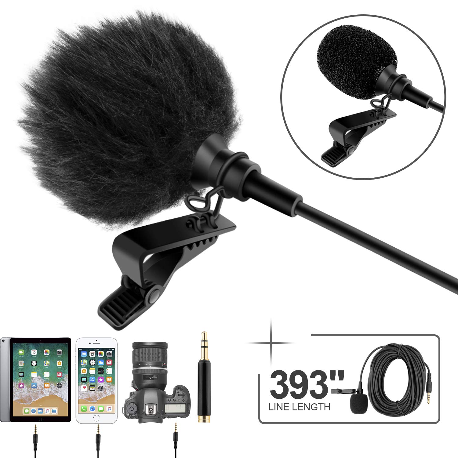 Professional Microphone Omnidirectional Recording Conference