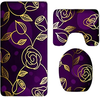 Best purple and gold bathroom set Reviews