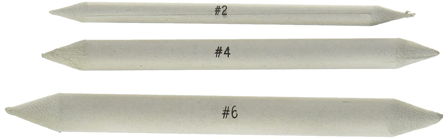 Jack Richeson Blending Tortillon Stomps, 3/8-Inch, 3-Pack