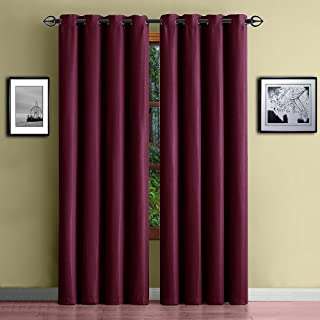 Warm Home Designs 1 Panel of Burgundy Red Standard Size 54