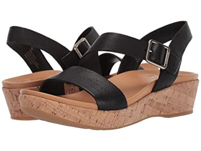 Kork-Ease Minihan (Black Full Grain) Women