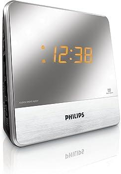Philips AJ3231 Mirror Finish Clock Radio