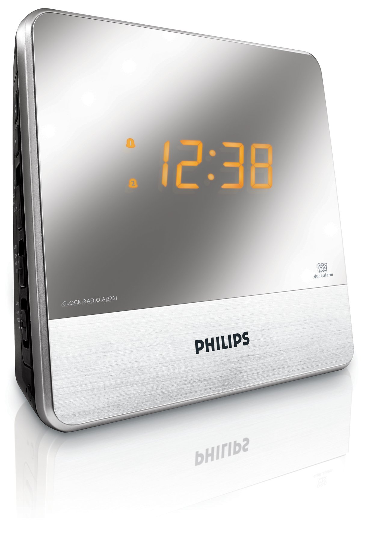 Philips AJ3231 Mirror Finish Clock