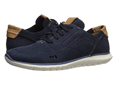 Hush Puppies Tricia Perf Lace-Up (Navy Nubuck) Women