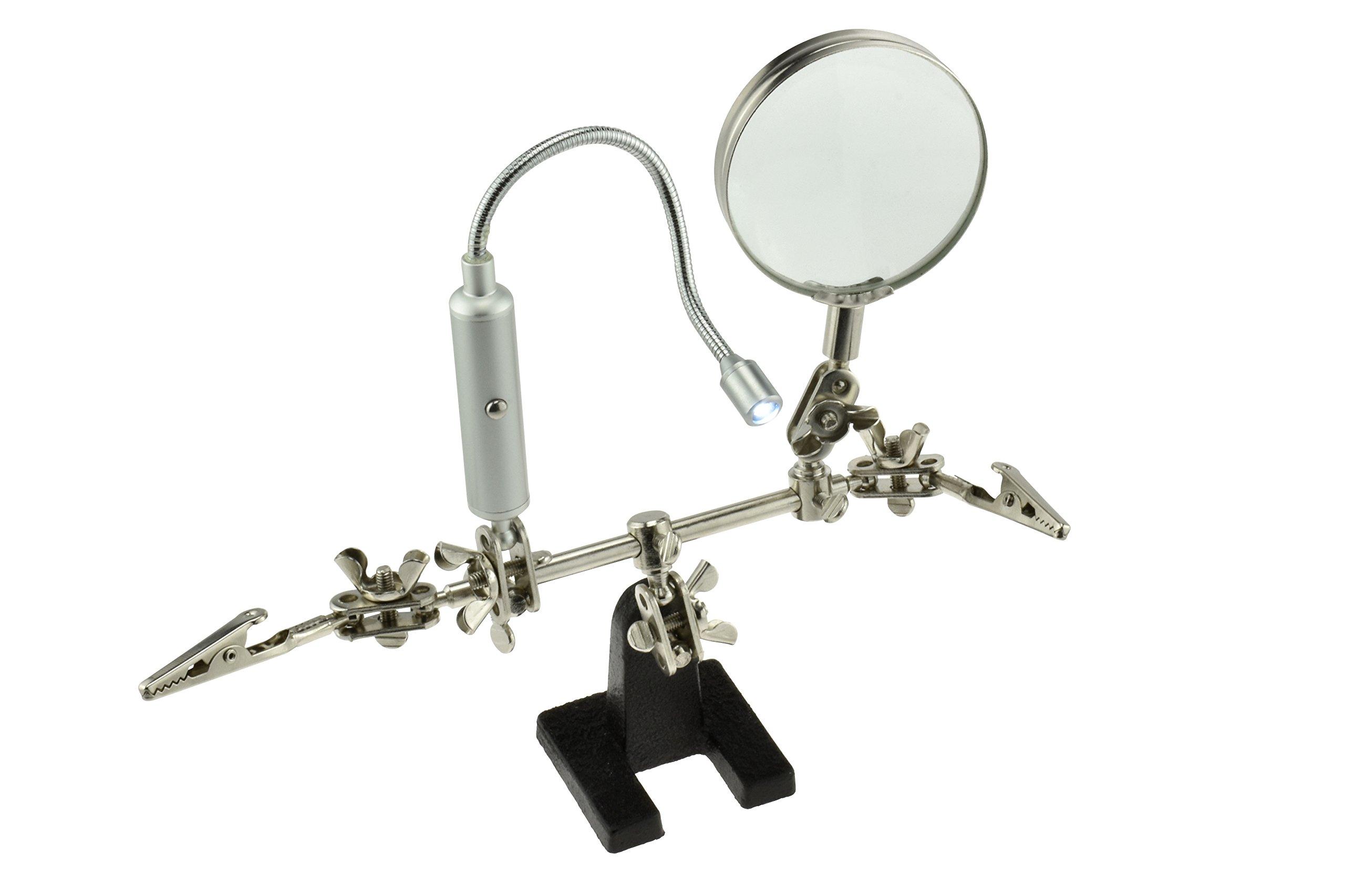 SE MZ1013FL Magnifier Flexible Flashlight