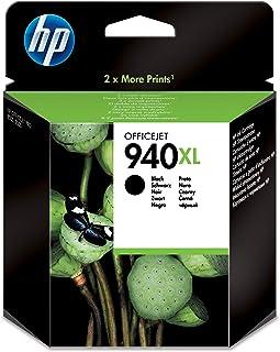 خرطوشة الحبر HP 940XL أصلية سوداء عالية الإنتاجية [ C4906AE ]