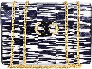Gemini Link Snake Ladies Medium Leather Chain Shoulder Bag 44344438