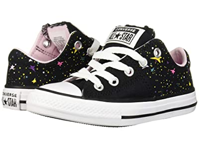 Converse Kids Chuck Taylor All-Star Madison Gravity Graphic Ox (Little Kid/Big Kid) (Black/Mod Pink/White) Girls Shoes