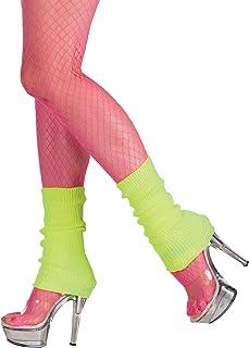Boland Boland 01752 - Beinwärmer für Erwachsene, neon gelb, Einheitsgröße