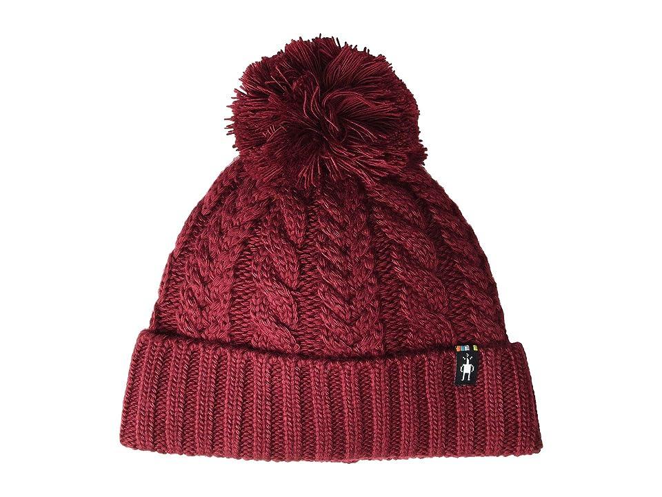 Smartwool Ski Town Hat (Tibetan Red) Beanies
