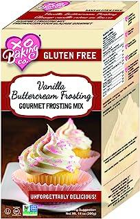 XO Baking Gourmet Vanilla Buttercream Frosting Mix - Gluten-Free Non-GMO Vanilla Frosting