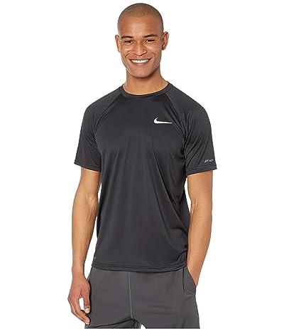 Nike Essential Short Sleeve Hydroguard (Black) Men